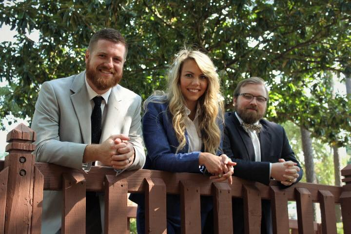 David Morgan, Nolan Perry, and Devon Howell of Morgan and Perry Law, PLLC of Fuquay-Varina, NC