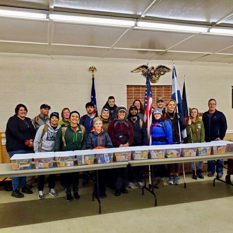 Fuquay-Varina Ruck Club Partners with Travis Manion Foundation and American Legion Post 116 to Deliver Care Packages to Ensure No Veteran is Forgotten in Fuquay-Varina, NC