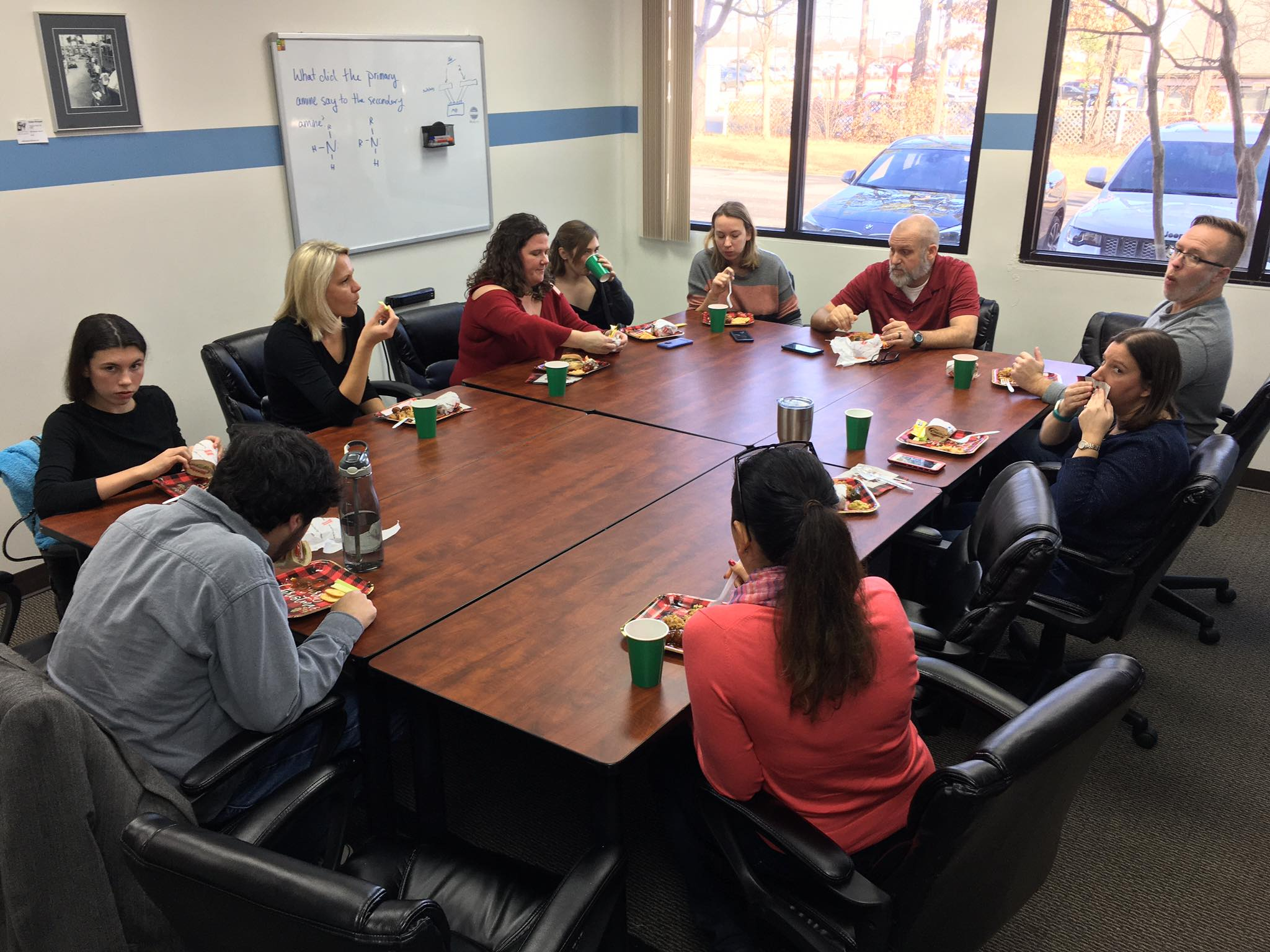 Fuquay Coworking Holiday Potluck